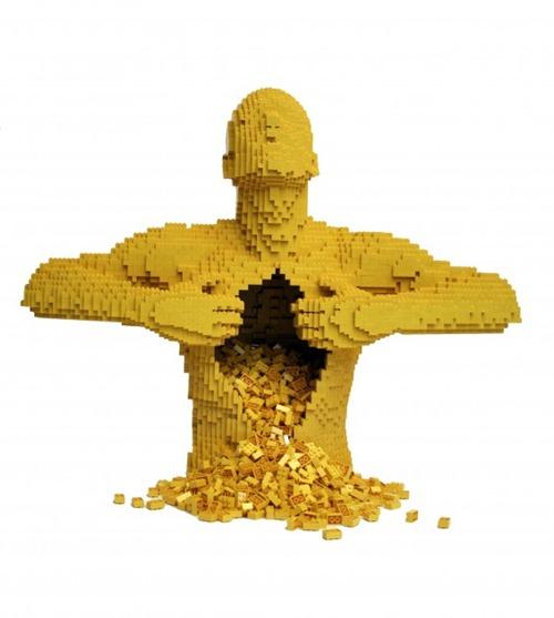 escultura Legos 01