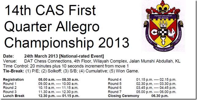 Program Quarter Allegro 2013