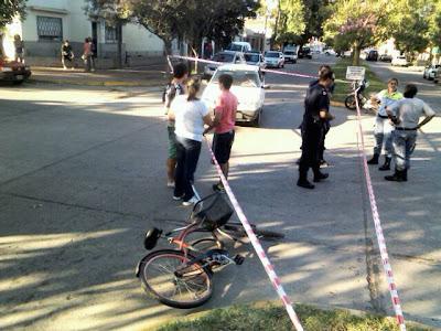 choque auto bicicleta chacabuco 2013
