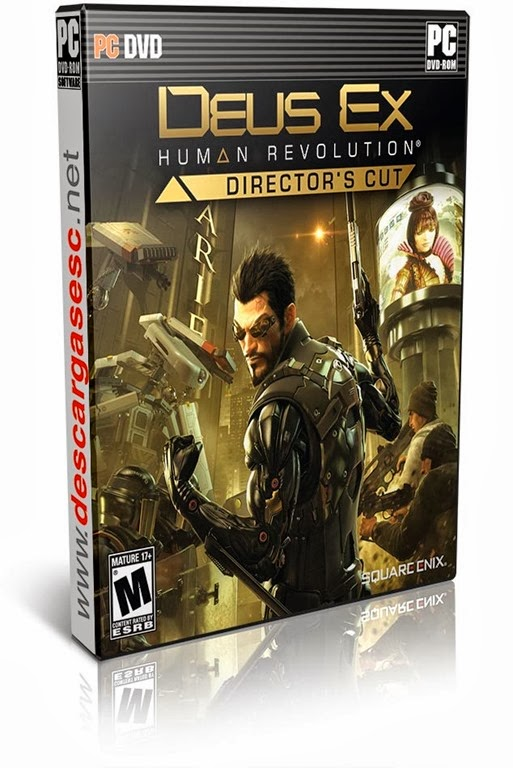Deus Ex Human Revolution Directors Cut-RELOADED-pc-cover-box-art-www.descargasesc.net