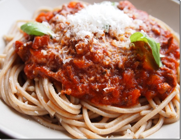 bolognese sauce 4