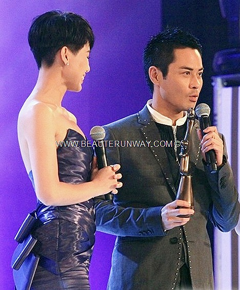 Starhub TVB Awards 2012 Kevin Cheng Ka Wing Ghetto Justice 2 IP Man Drama Myolie Wu Hang Yee  My Favourite TVB Actor TV Character Singapore Media Favourite drama Marina Bay Sands Ballroom Hotel  Sam Lee, Lam Chi Sin Raymond Cho