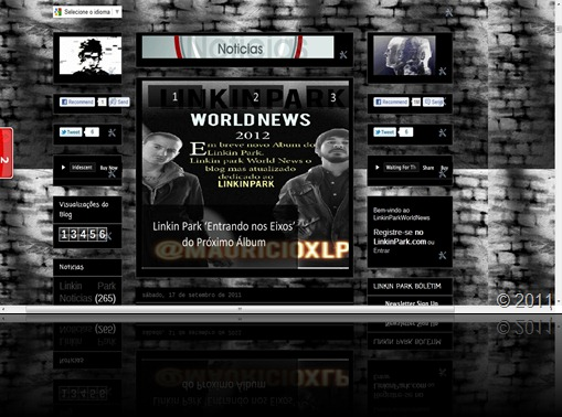 Linkin Park World News 2.0 @mauricioxlp  Twitter @LPWorldNews