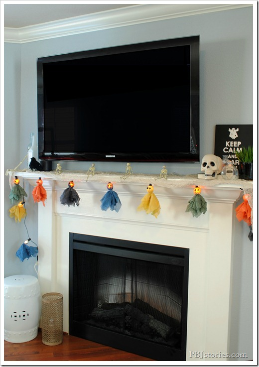 PBJstories Halloween Garland RIT Dye 3