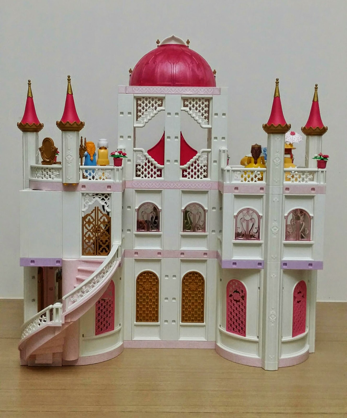 Playmobil buildings customisation royal palace 4250 for Chateau playmobil 4250