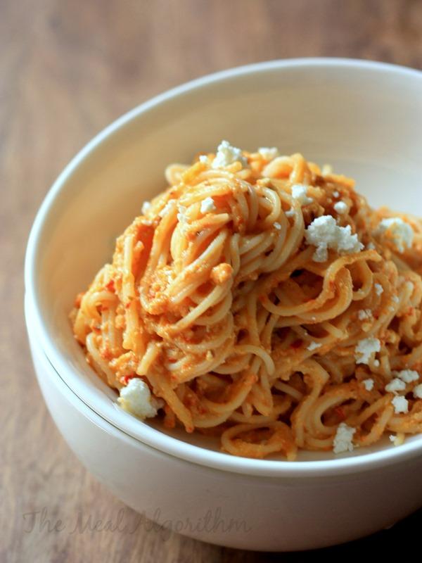 Peanut Hummus & Chilli Pesto Pasta-2