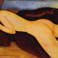 Modigliani, Reclining Nude From Back 1917.jpg