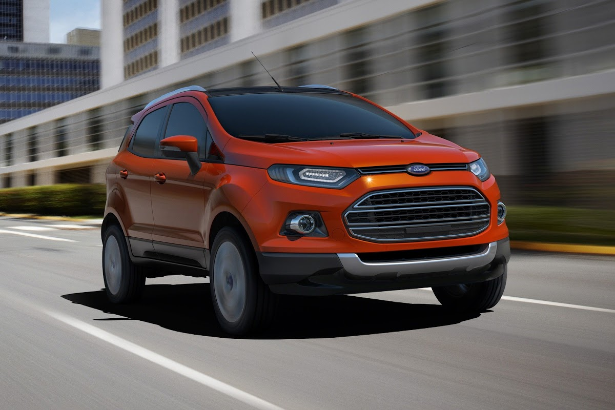 ford previews all new ecosport at auto expo 2012 in new delhi