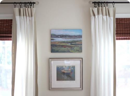 art between windows