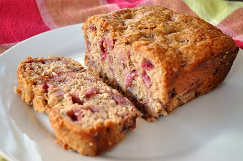 strawberry bread strawberry bread close paleo strawberry banana bread ...