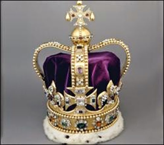 Corona de San Eduardo - joyas del Reino Unido