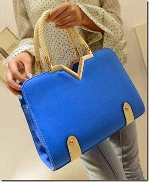ID 4767 Blue (207.000) - PU Leather, 30 x 23 x 11