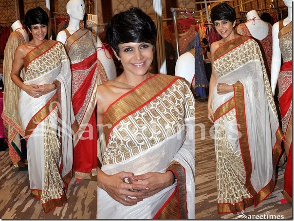 Mandira_Bedi_White_Saree