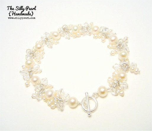 Fringe bracelet - The Silly Pearl