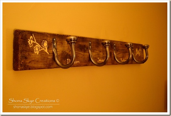 Shona Skye Creations - Reclaimed Decking Coat Rack 008
