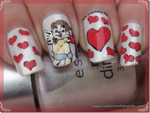 cupid nail art 4