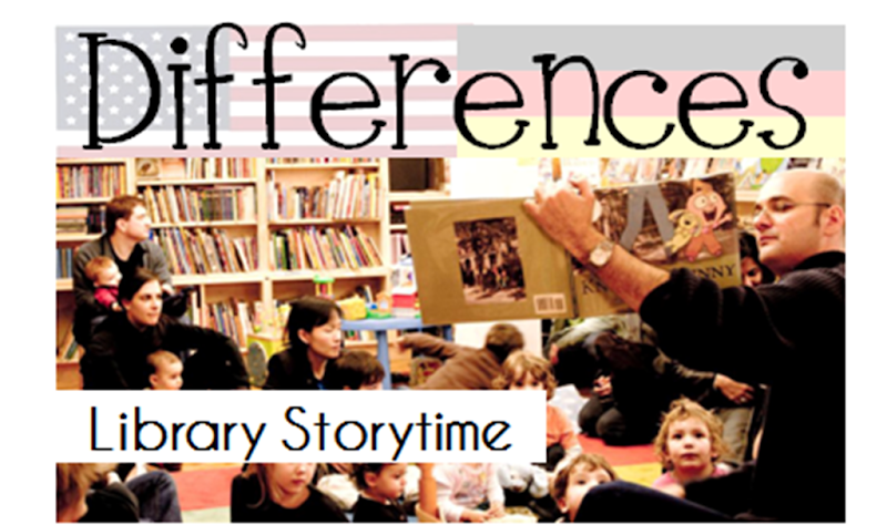Differences between the US and Germany - Library Storytime