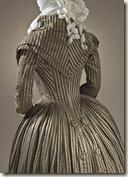 Anglomanie : Robe redingote, vers 1790 Soie, coton