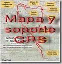 Mapa y soporte GPS Ujué - Txutu alto