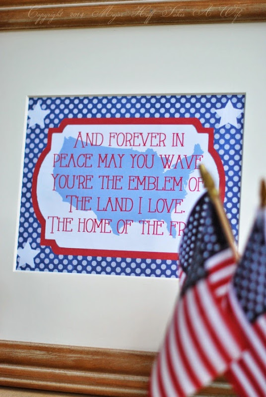 Free Printable for 4th of July