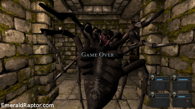 Legend of Grimrock Spider