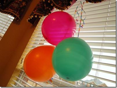 2.  Balloons