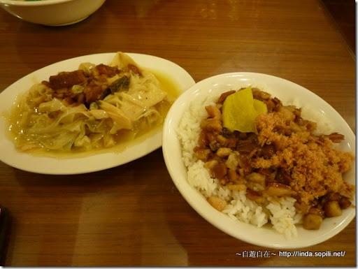 萬華艋舺‧四方阿九-魯肉飯+筍絲