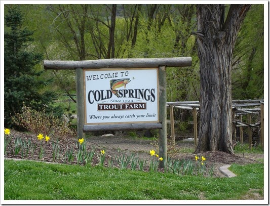 COld Spring Trout Farm