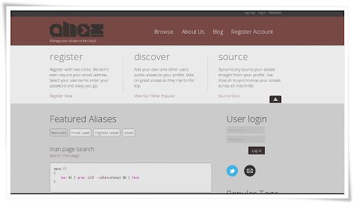 Alias portale web