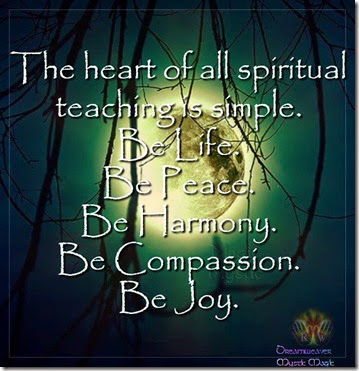 spiritual teaching
