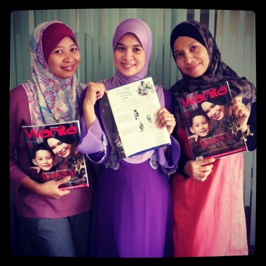 penuh sila dptkan majalah wanita keluaran september 2013 majalah