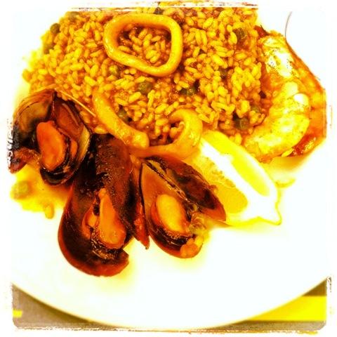 #243 - seafood paella
