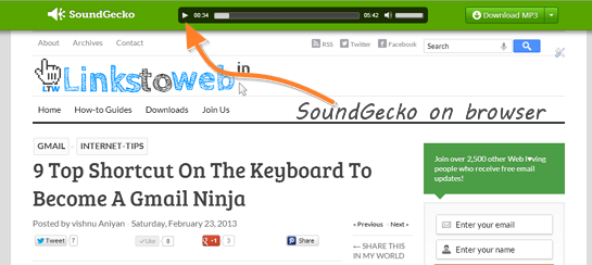 SoundGecko-on-browser