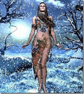 La dama de las nieves, leyenda rusa
