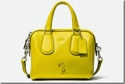 Peanuts X Coach Yellow