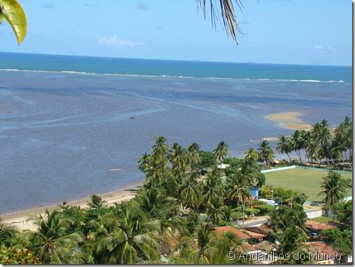 Mirante do Rio Manguaba avistando a cidade de Porto de Pedras Rota Ecológica de Alagoas
