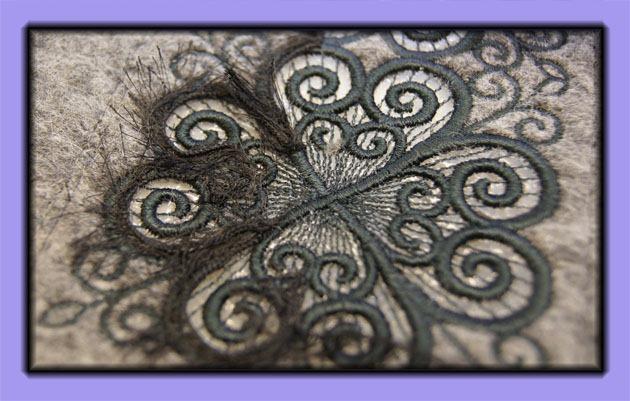 Broderkort: Husqvarna Viking # 235, Decorative Cutwork