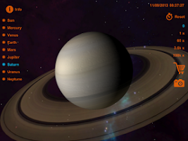 Screenshot of Solar System 3D Deluxe