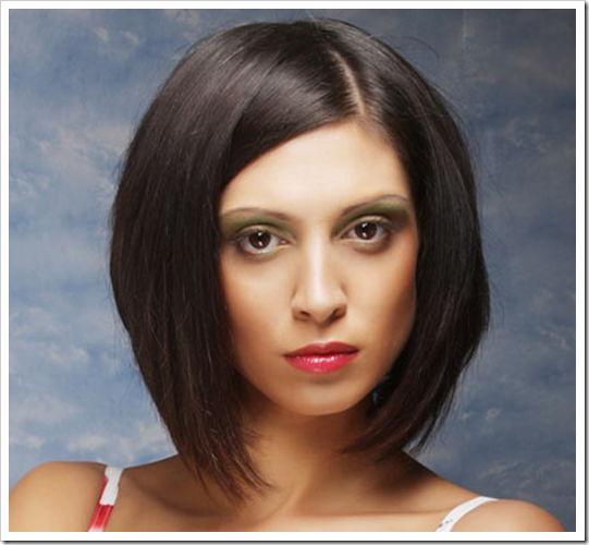 Model Rambut Demi-Bob