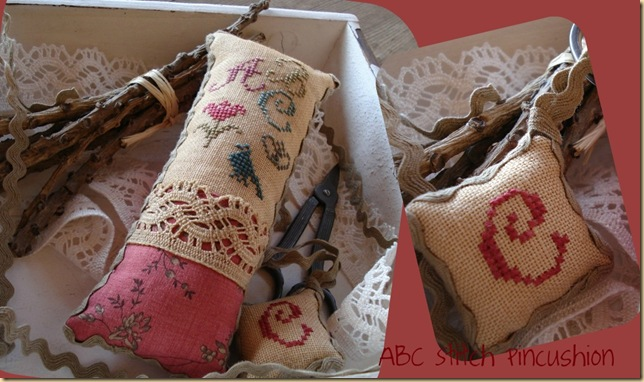 ABC sTITCH pINCUSHION DE CARMEN