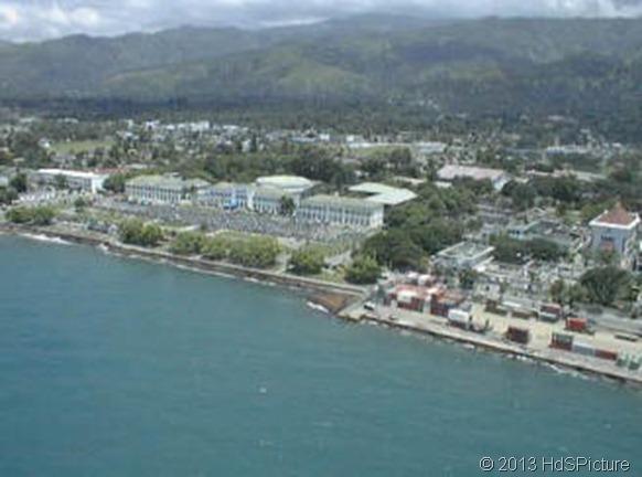 pemandangan Dili, ibukota Timor Leste