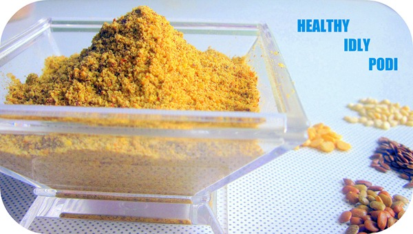 healthy idly podi