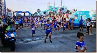 Una multitud dio inicio al Circuito La Costa Corre en San Bernardo