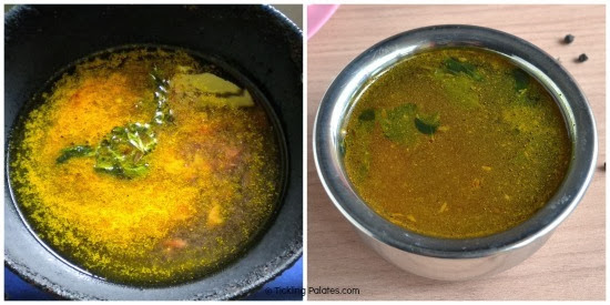 how to make milagu-rasam