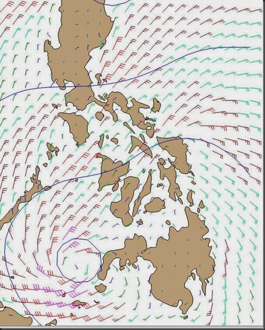 tropical storm that sucked delos up to the phillippines