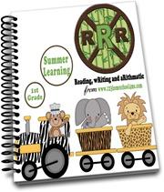 1st Grade Summer Learning RRR- cover 2