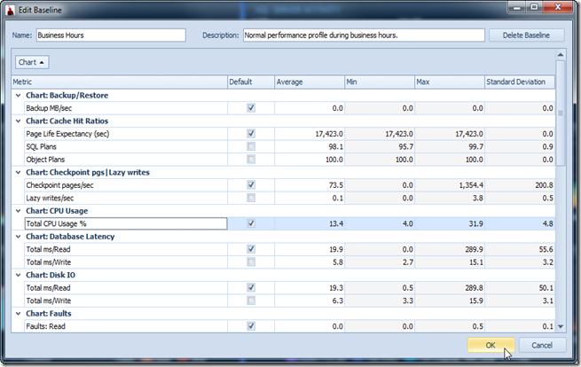 Baseline-Create-Metrics