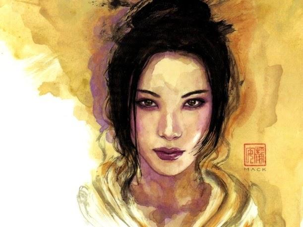 Kabuki David Mack Wallaper 1024x768