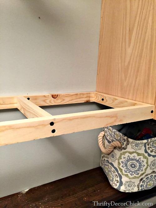 making wood shelving
