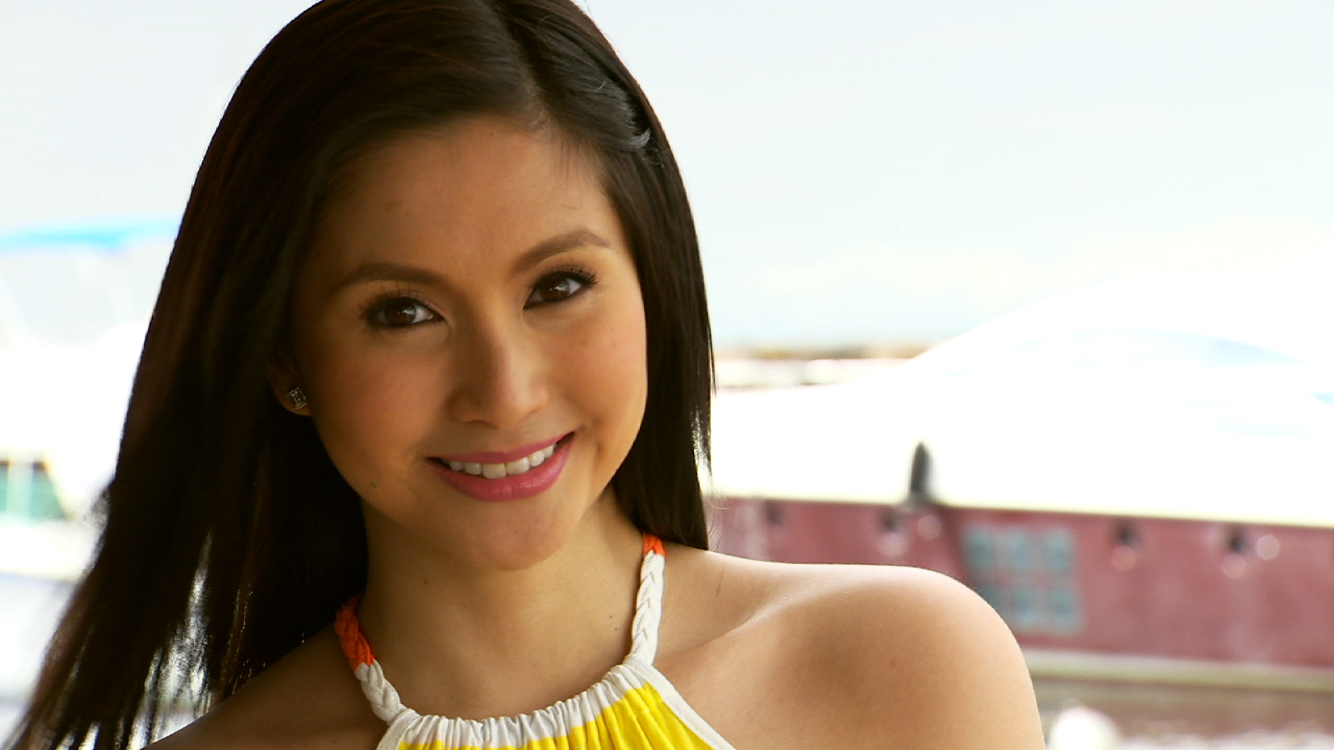 While Wil Time Bigtime host Mariel Rodriguez is still noticeably on cloud ...